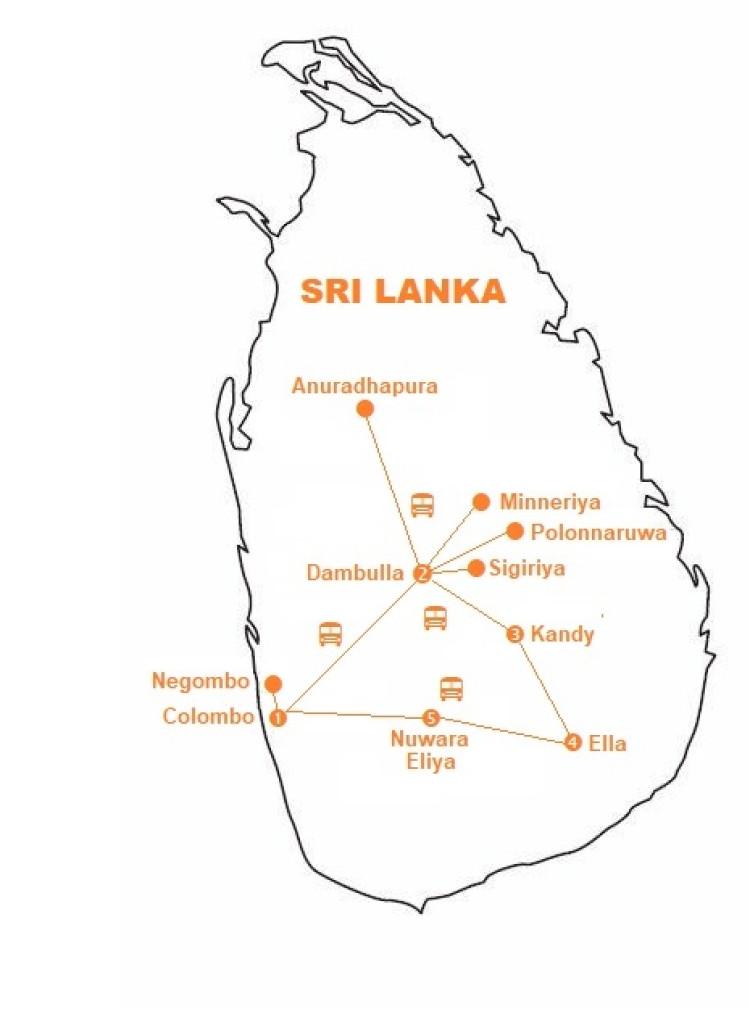 Mappa viaggio-srilanka