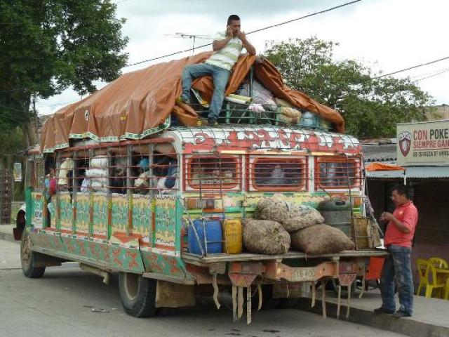 COLOMBIA: COLOMBIA TROTTER NOVEMBRE